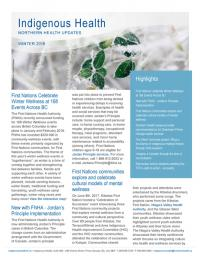 IHNH Winter 2018 Newsletter