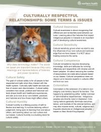 front page of fact sheet with text and pictures of foxes