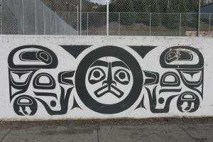 Wall mural in Terrace, BC