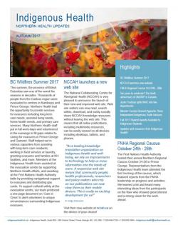 IHNH Autumn 2017 Newsletter
